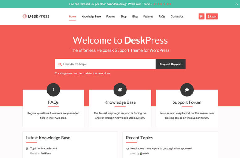 10+ Best Knowledge Base, Wiki, FAQ & Support Ticket WordPress Themes And Plugins – 2017