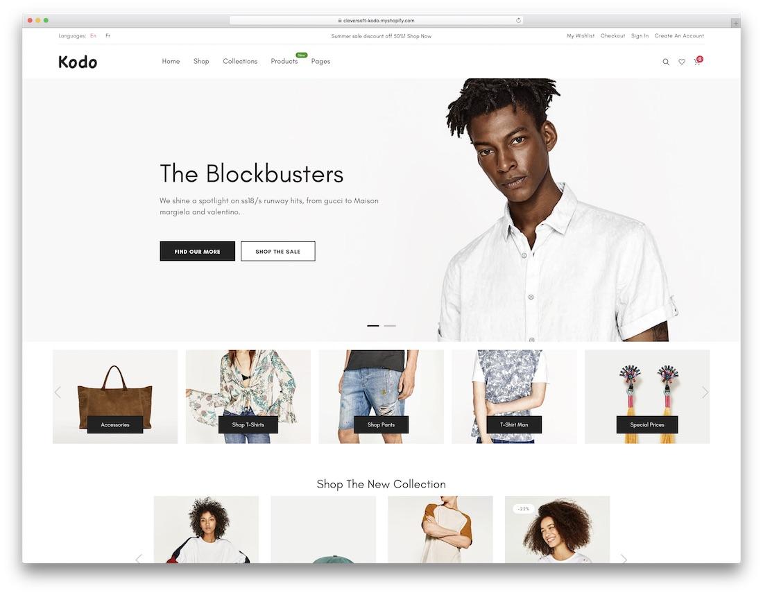 kodo fashion shopify theme
