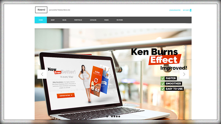 Koorsi - Furniture Tema Woocommerce