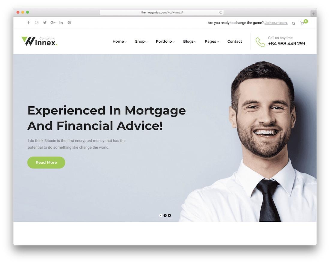 kormo wordpress insurance theme