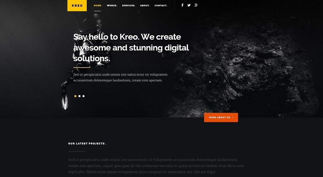 16 Responsive & Free HTML Website Templates 2017 - Colorlib
