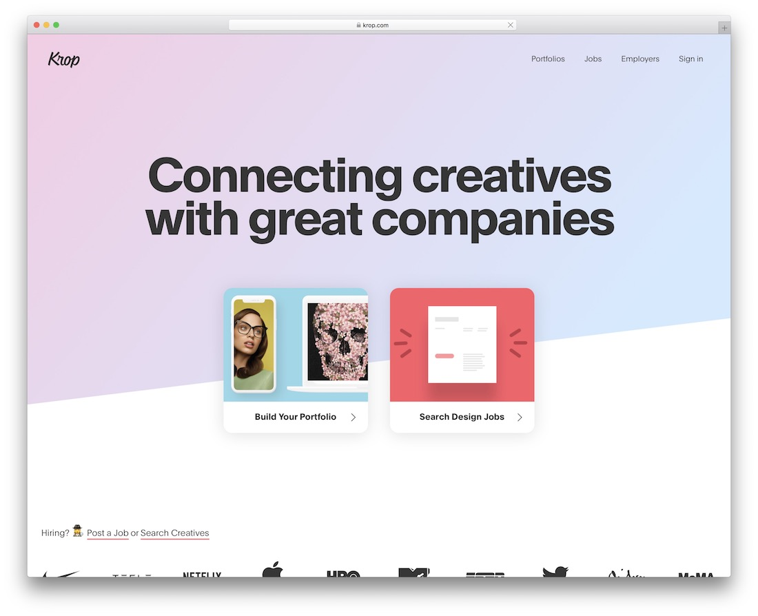 , 14 Portfolio Websites for Web & Graphic Designers, Rojak WP