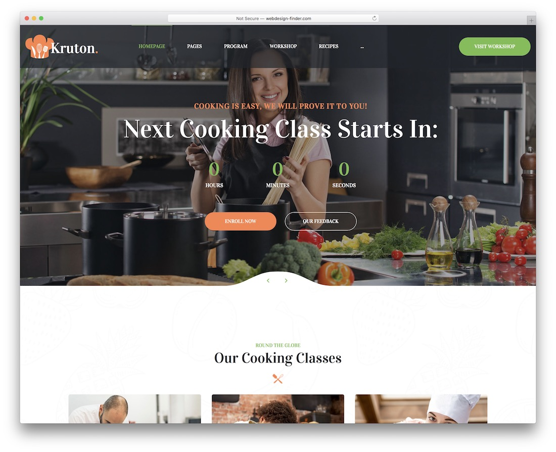kruton membership wordpress theme