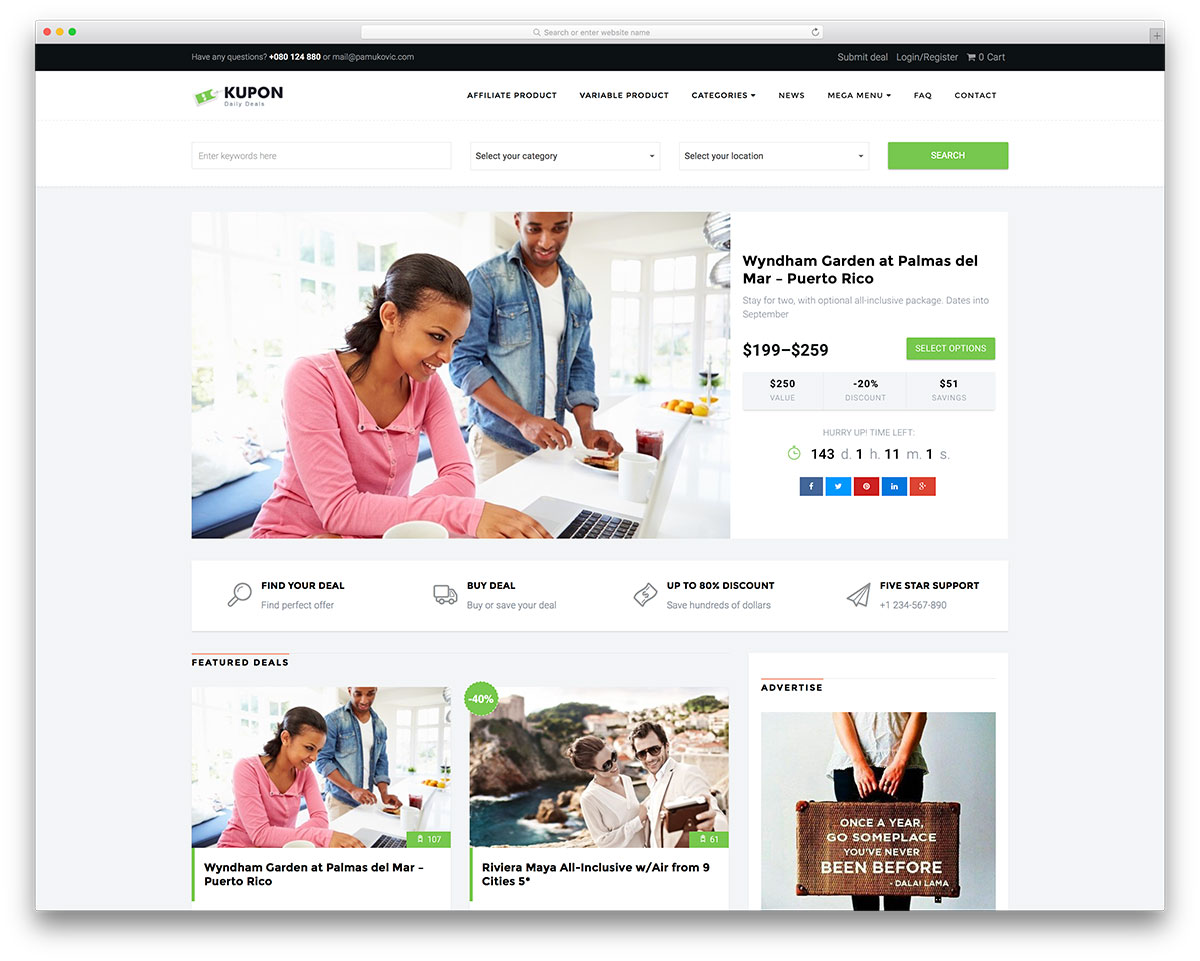 kupon-daily-deals-wordpress-theme