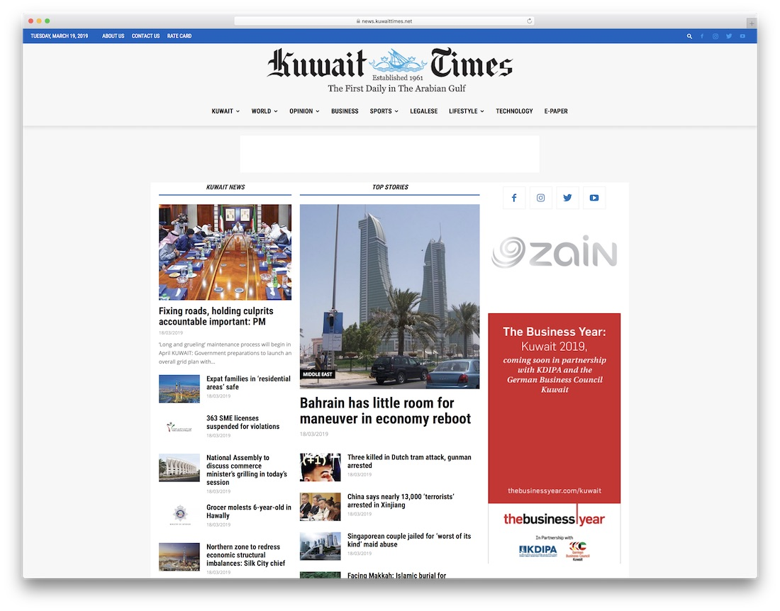 32 Outstanding Newspaper Theme Examples For Inspiration