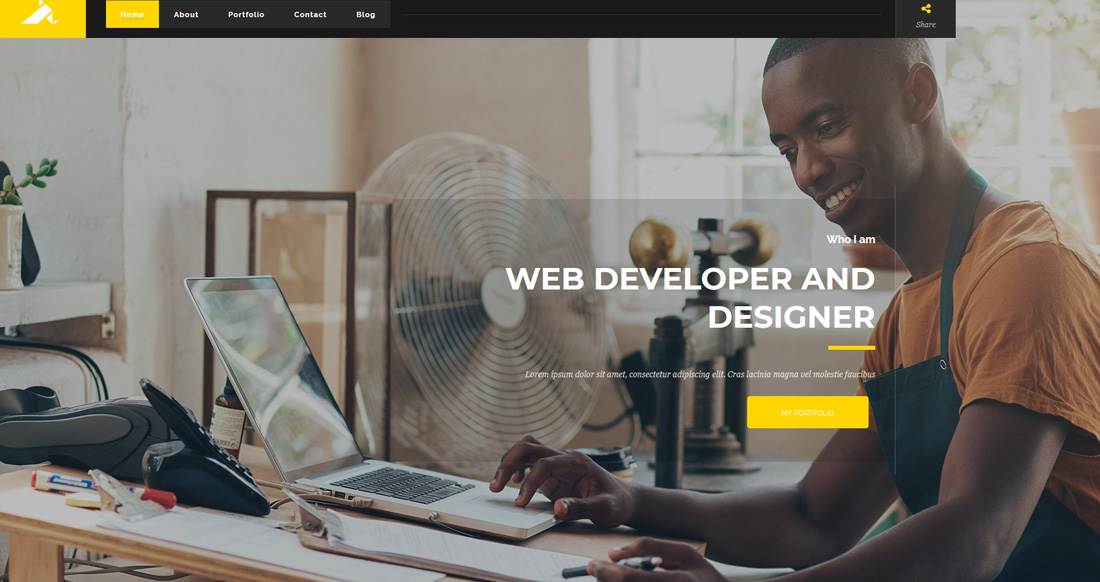 kvest-bootstrap-personal-website-templates