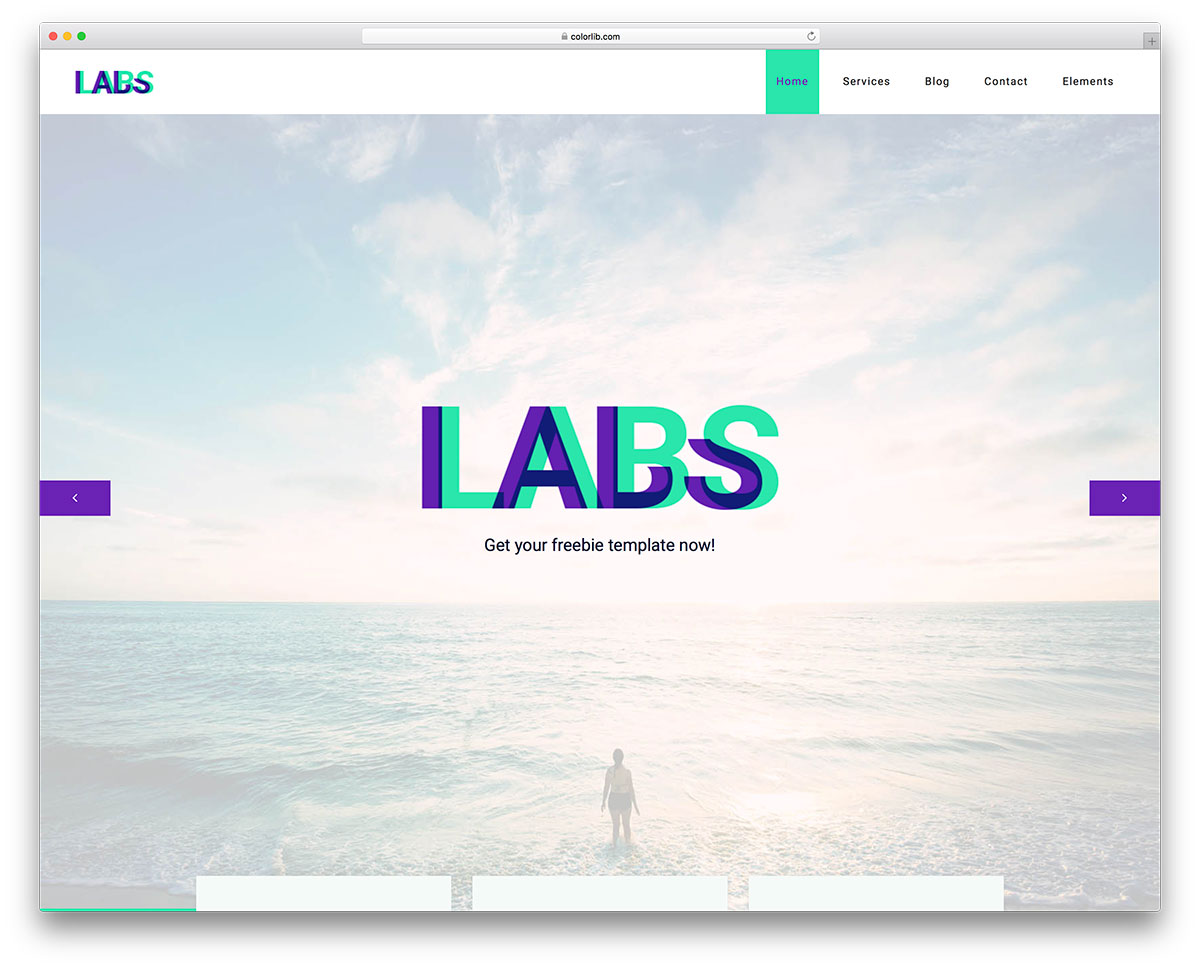 40 free responsive html5 business templates for startups 2018 colorlib there is plainness and there is ultimacy both mixed into one incredible free small business website template no wonder why it is called labs wajeb Choice Image