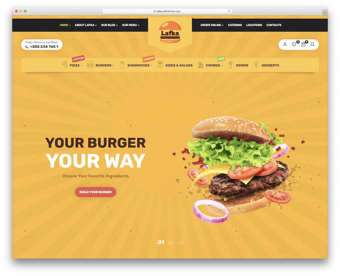 lafka wordpress restaurant theme