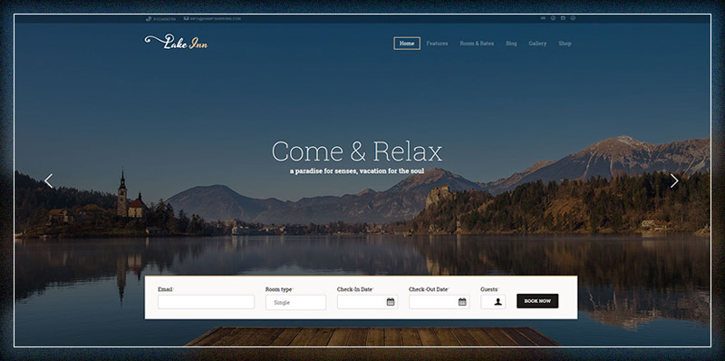 LakeInn - Inns, Hotels & Resorts Theme