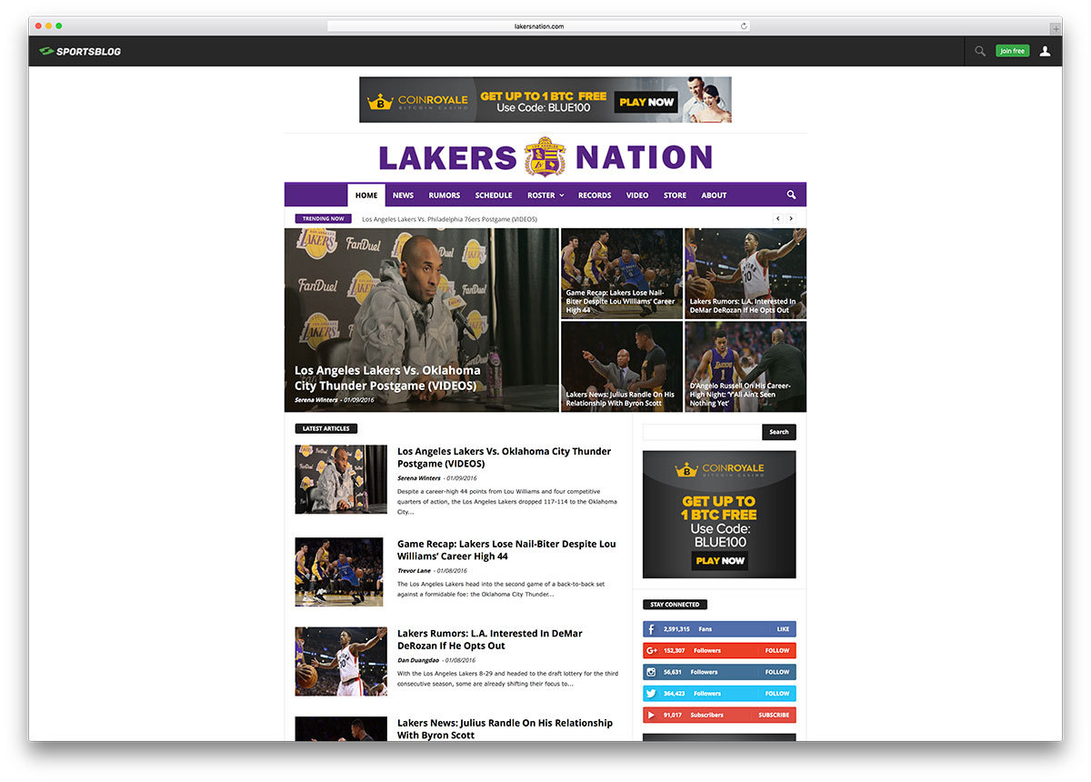 lakersnation-sports-news-website-with-visual-composer