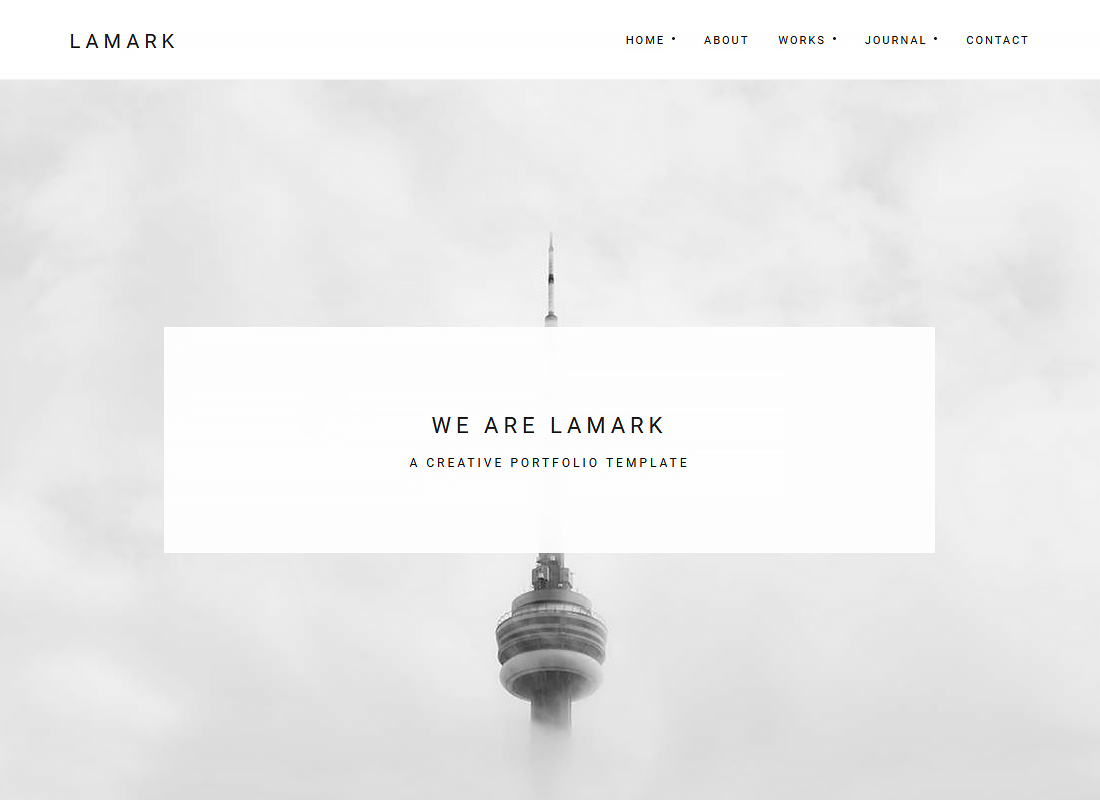 Lamark - Freelancers and Agencies Portfolio WordPress Theme