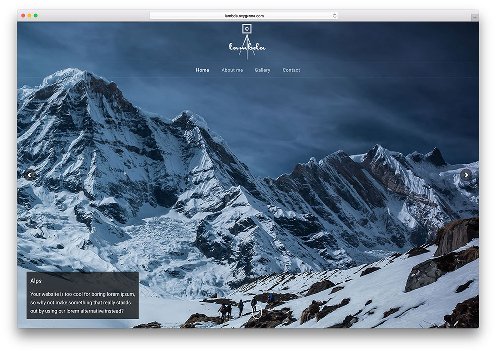 lambda-fullscreen-gallery-wordpress-theme