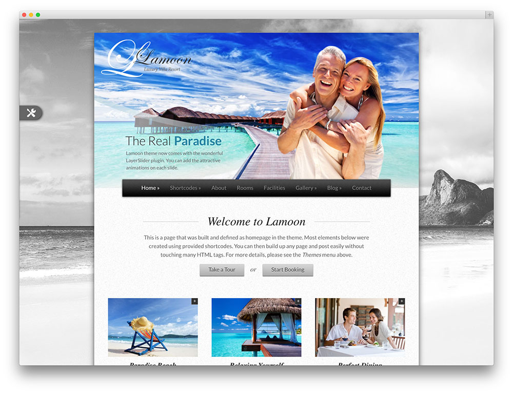 lamoon - vacation rental theme