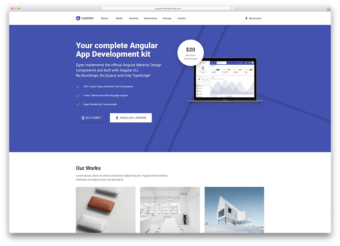 26 Top Responsive AngularJS Website Templates 2019 - Colorlib