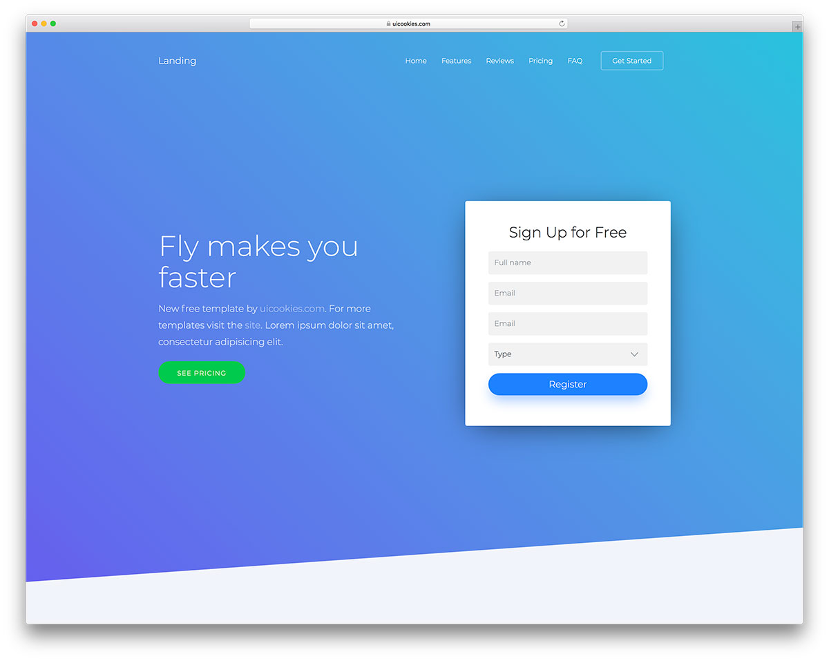 49 Free Simple Website Templates For Clean Sites Using Html Css