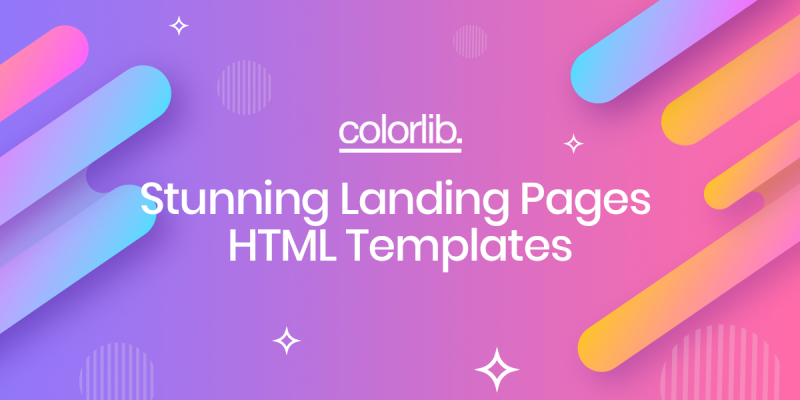30+ Stunning Landing Pages HTML Templates 2020