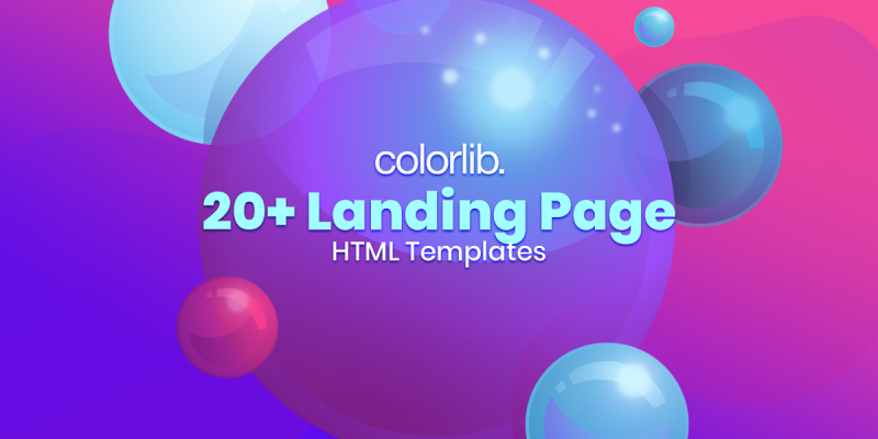 20+ Stunning Landing Pages HTML Templates 2020