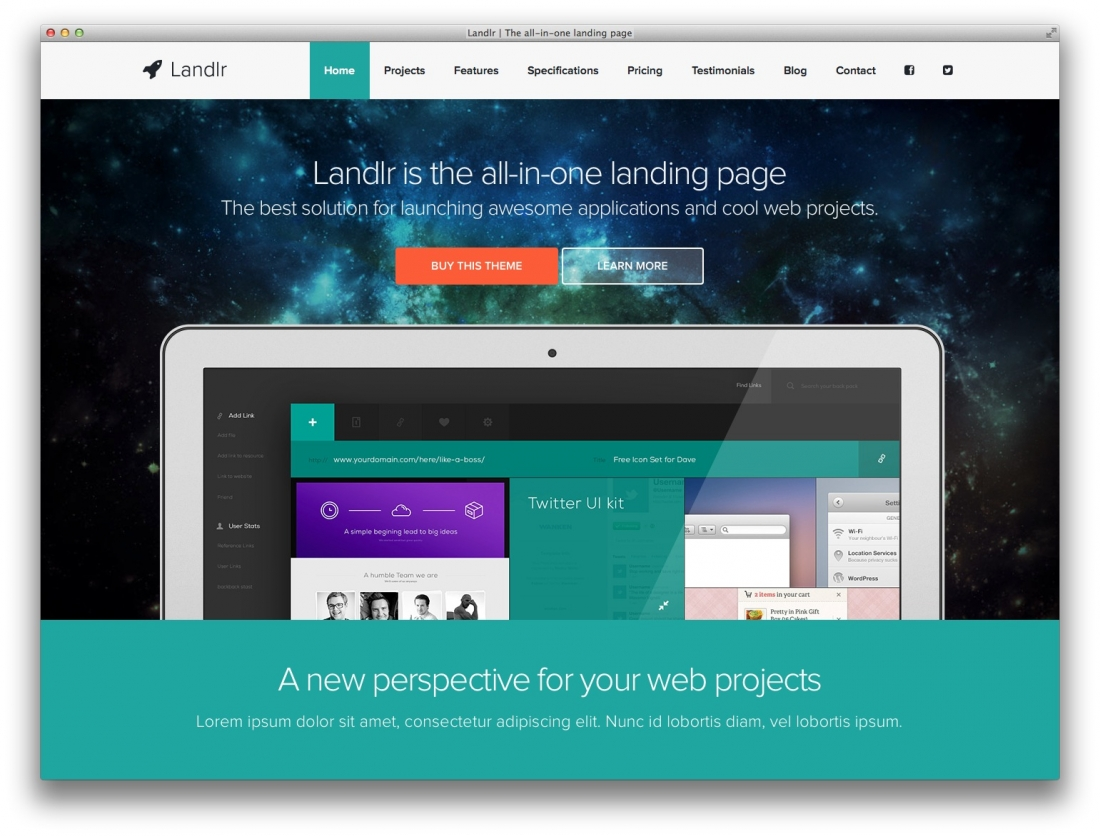 15 Best Landing Page WordPress Themes For Apps, Products, Services And Business In General – 2014