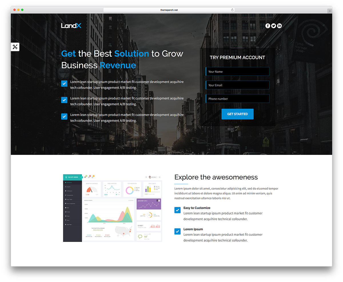 landx-creative-cfa-wordpress-website-template
