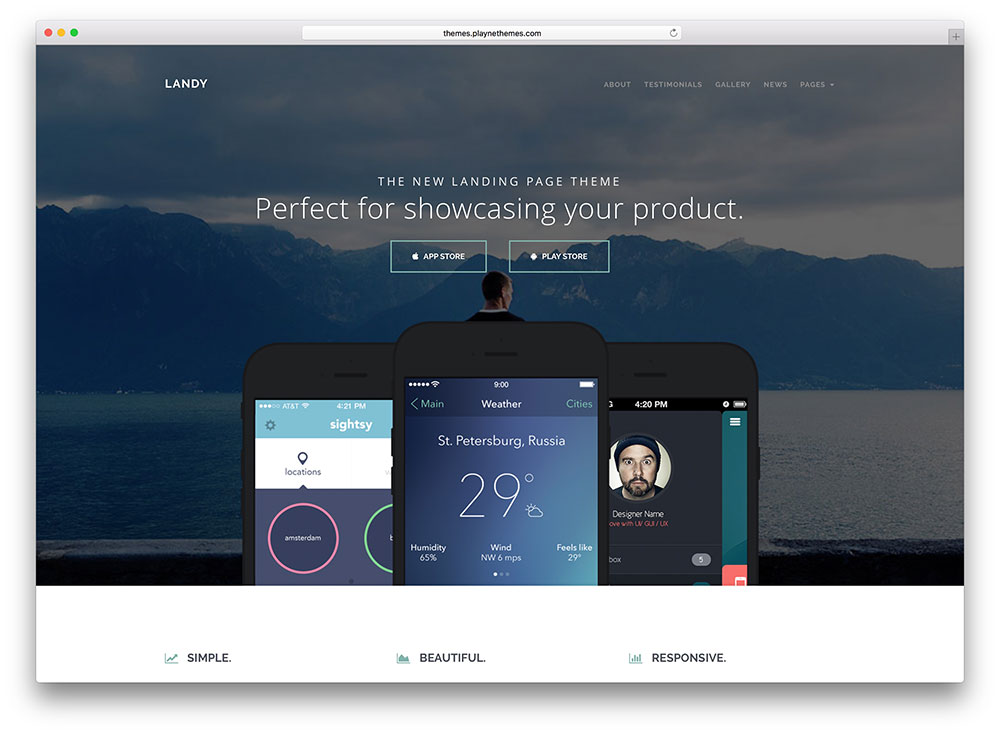 landy-app-landing-page-wordpress-theme