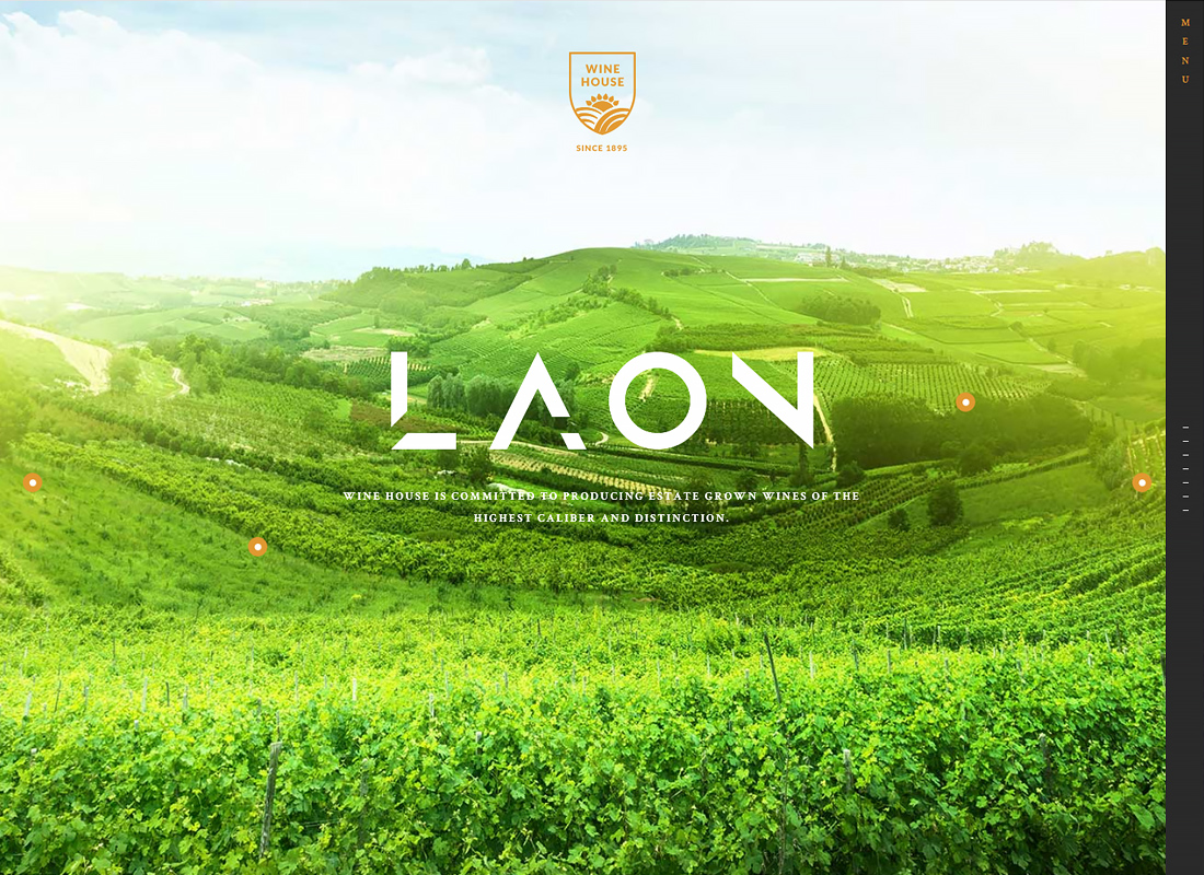Laon - Wine House, Winery & Wine Shop WordPress Theme