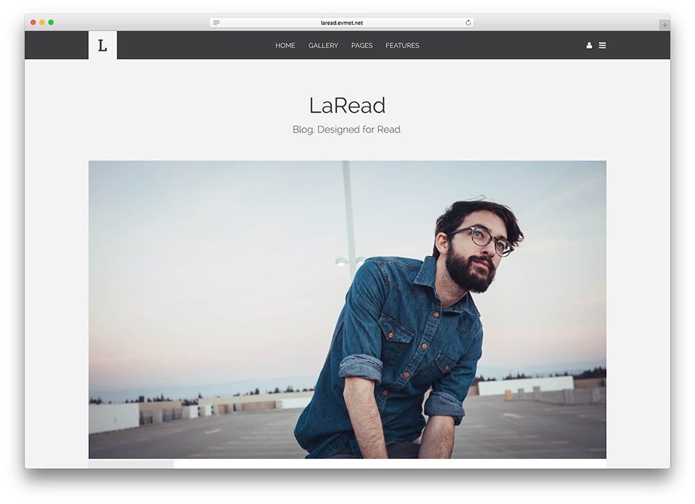 laread-simple-hipster-html5-blog-template