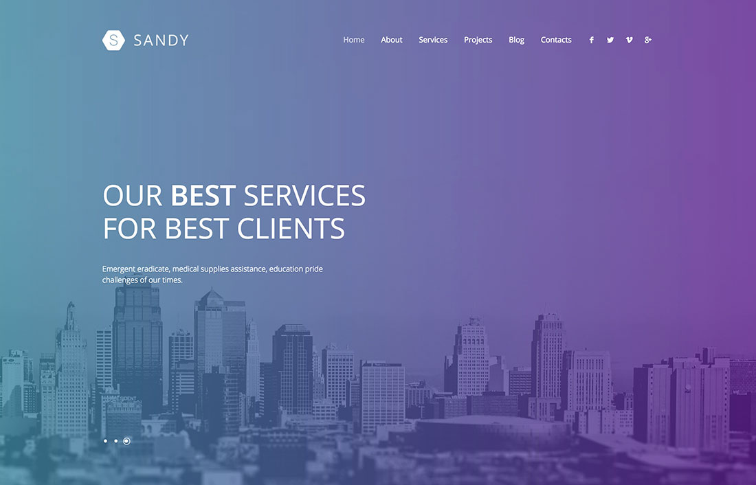 Latest Parallax Wordpress Themes