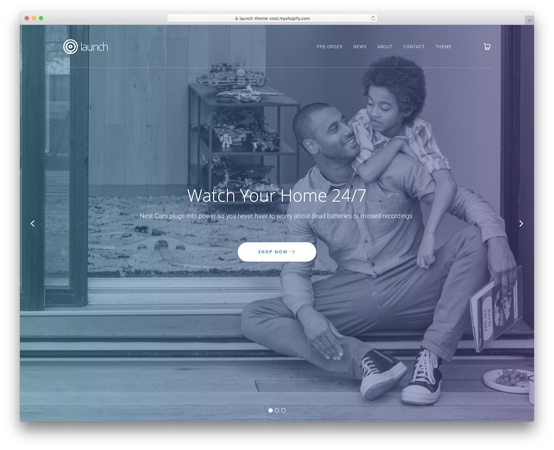 launch single product shopify theme
