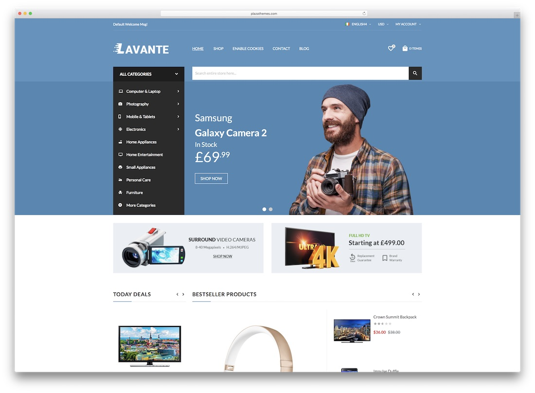 lavante magento technology theme
