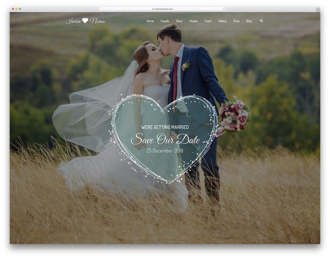 lavelo wordpress wedding theme