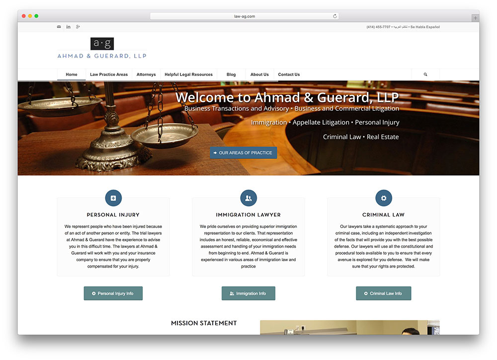 law-ag-personal-lawyer-site-using-enfold-theme