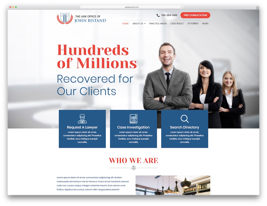 Law Firm Website Templates Free Download Legal Website Templates - Lawyer website template