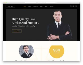 Lawyer Free Template