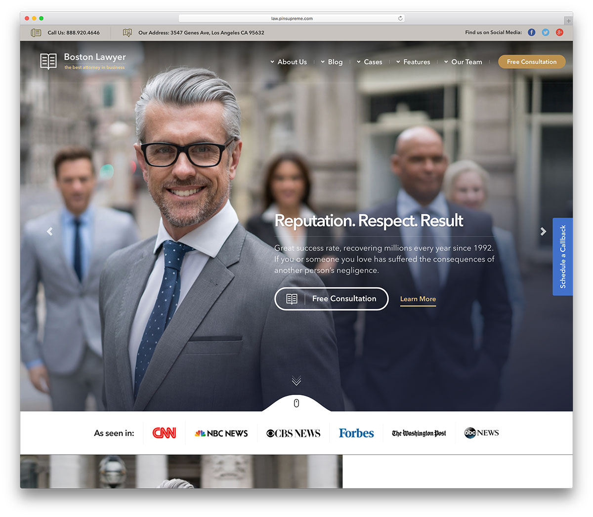 39 Best Lawyer WordPress Themes For Law Firms and Attorneys 2019