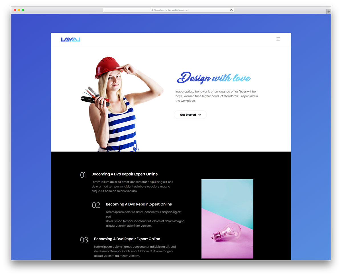 layal-free-seo-friendly-website-templates