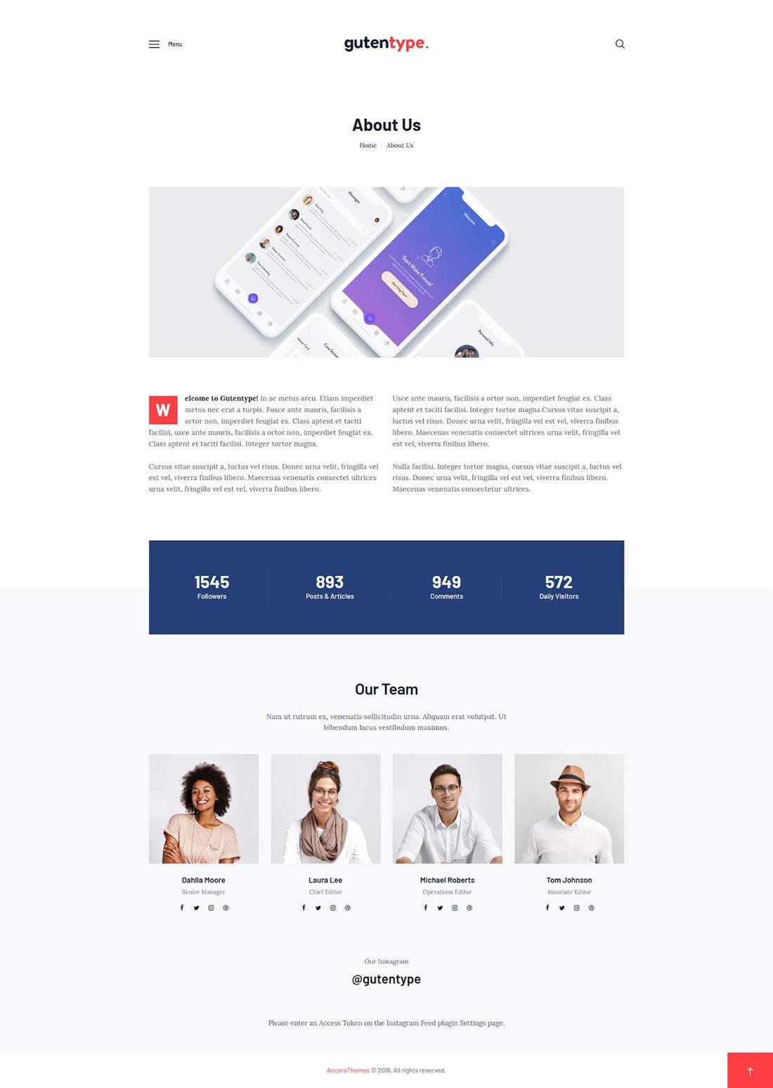 layout full-width