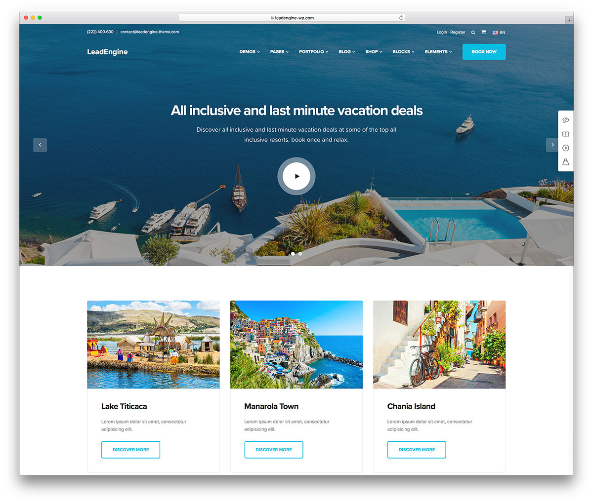 25 Customizable Travel Agency WordPress Themes 2020  Colorlib