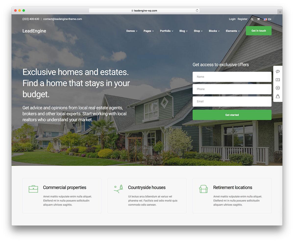 36 Best Real Estate WordPress Themes 2021 Colorlib