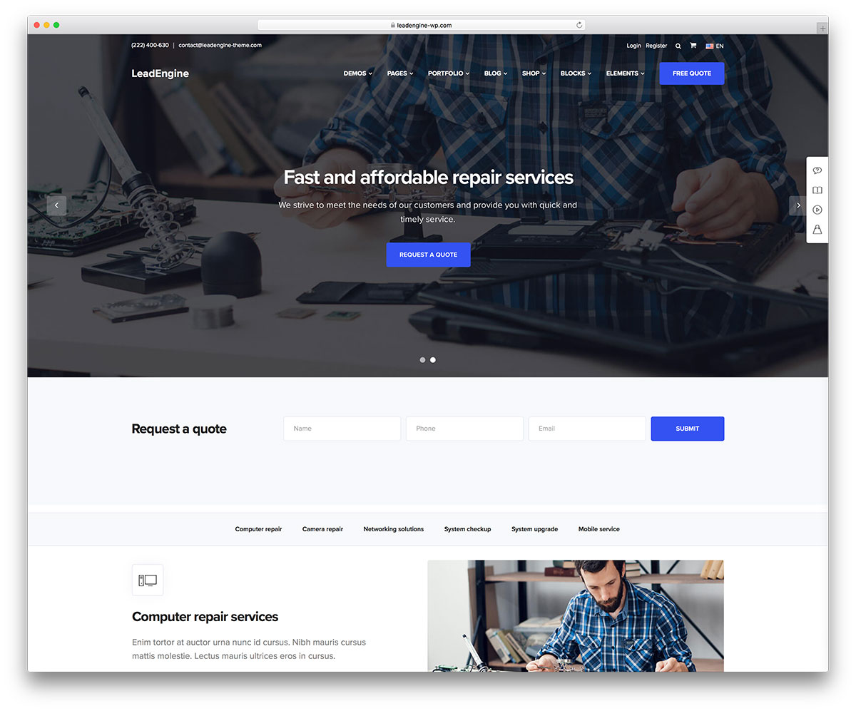40+ WordPress Themes for IT Companies and Tech Startups 2018 - Colorlib