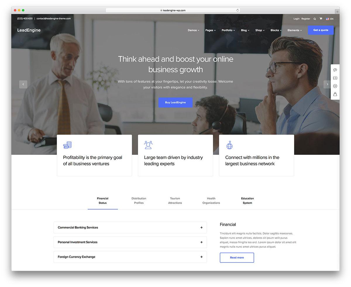 70+ Best Business WordPress Themes 2019 - Colorlib