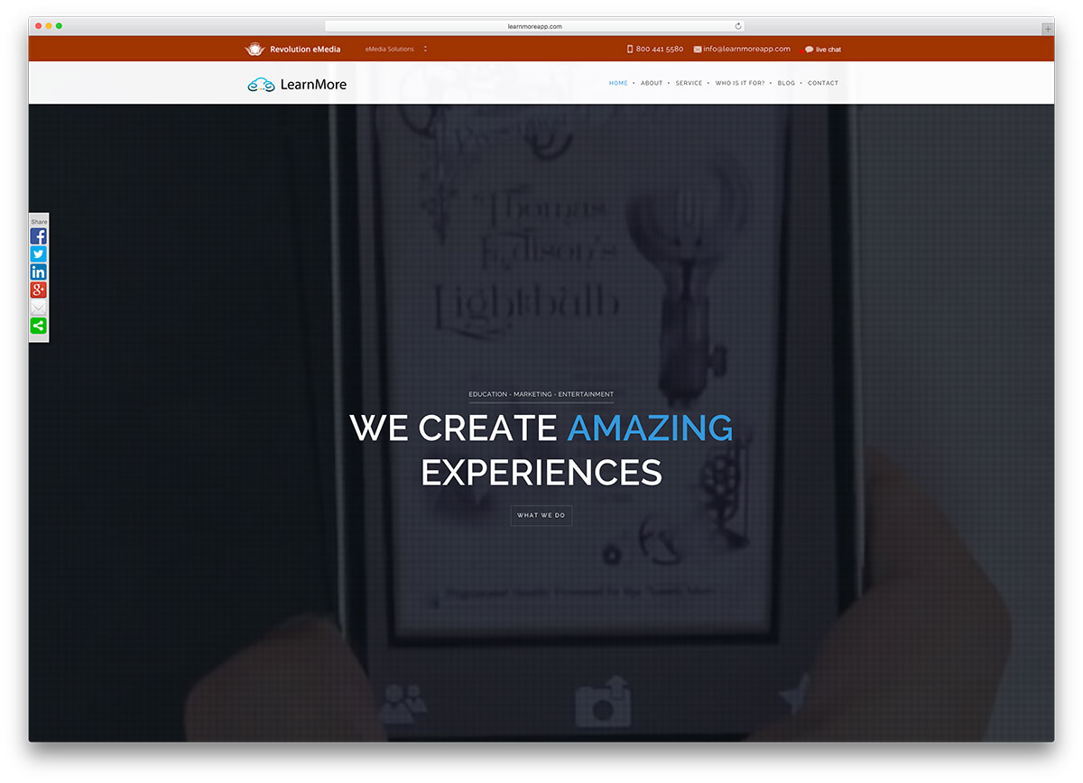learnmoreapp-education-app-landing-page