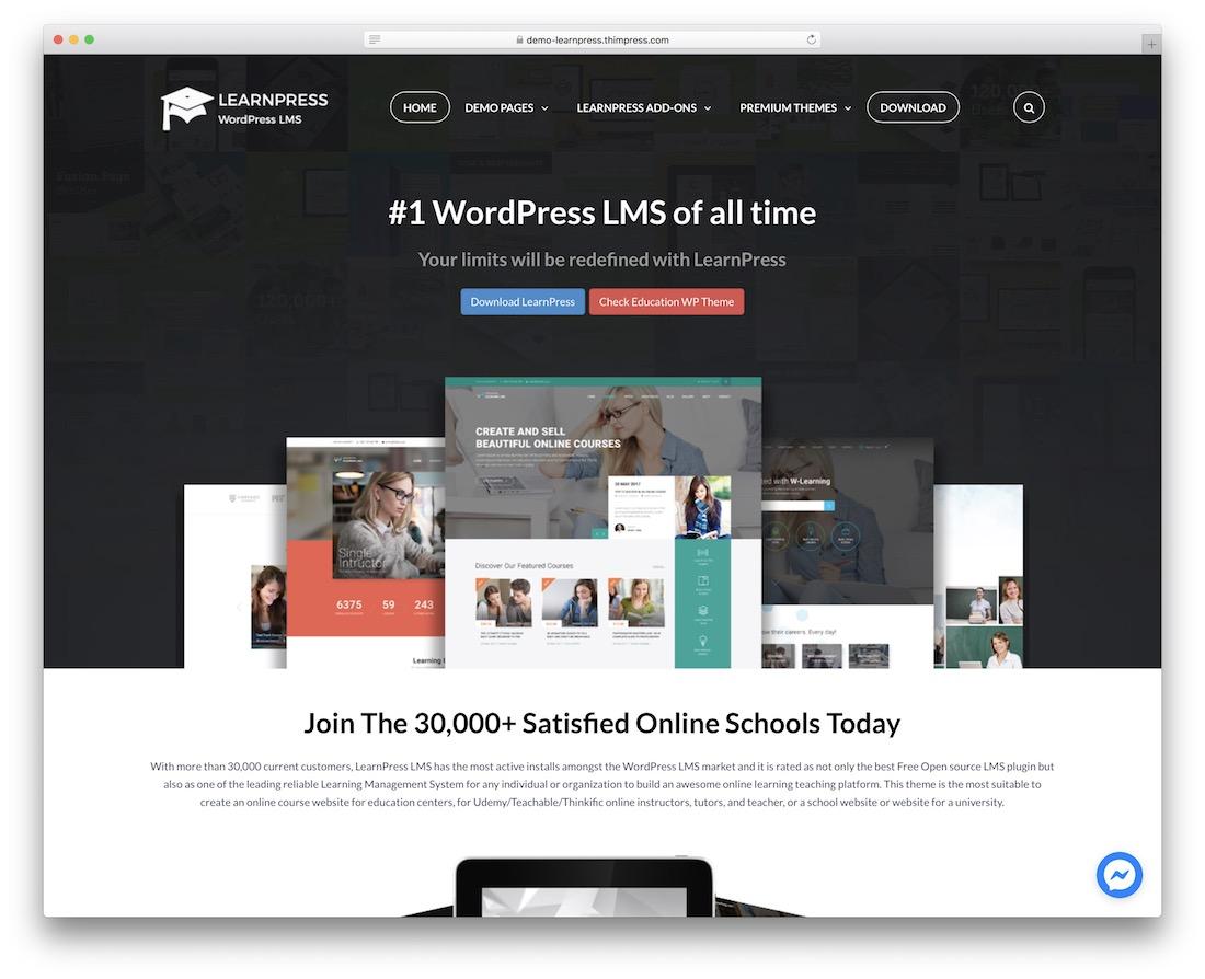 learnpress lms wordpress plugin