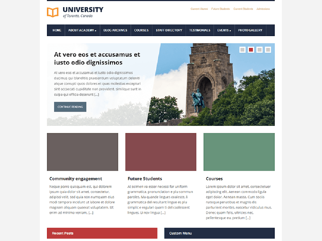 Lectura Lite WordPress Education Theme