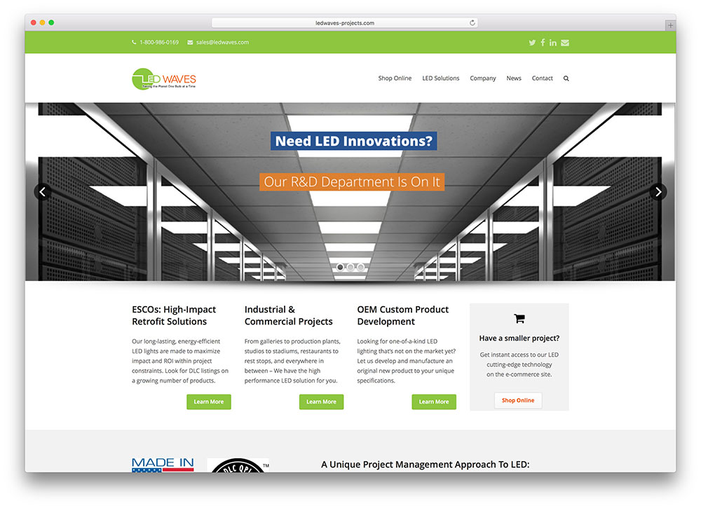 ledwaves-projects-led-lights-manufacturer-website