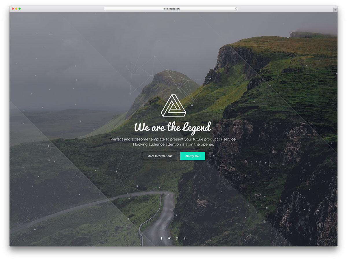 legend-simple-under-cnstruction-website-template