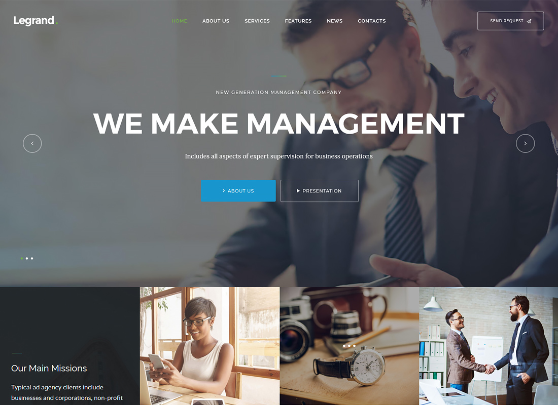 MaxiNet - Broadband & Telecom WordPress Theme
