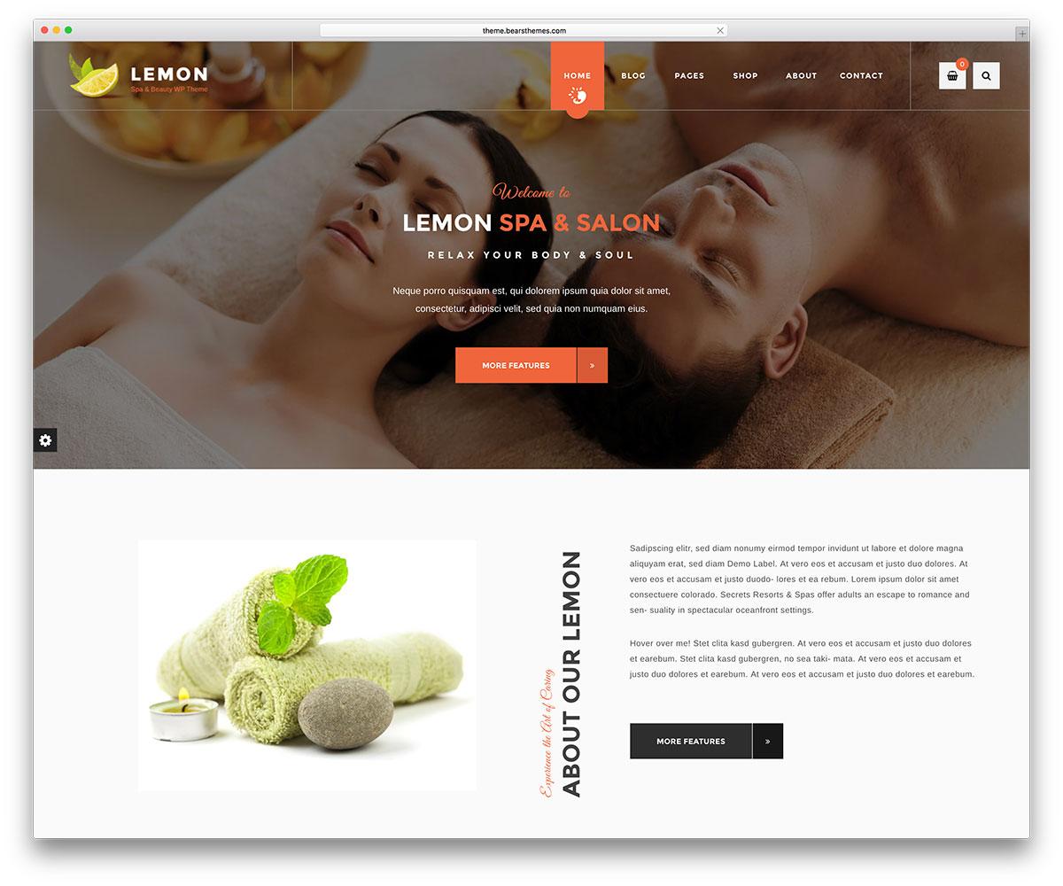 lemon-spa-salon-wordpress-website-template