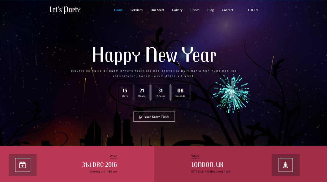 lets-party-bootstrap-social-network-templates