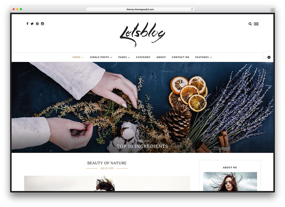 letsblog-black-whie-blogging-theme