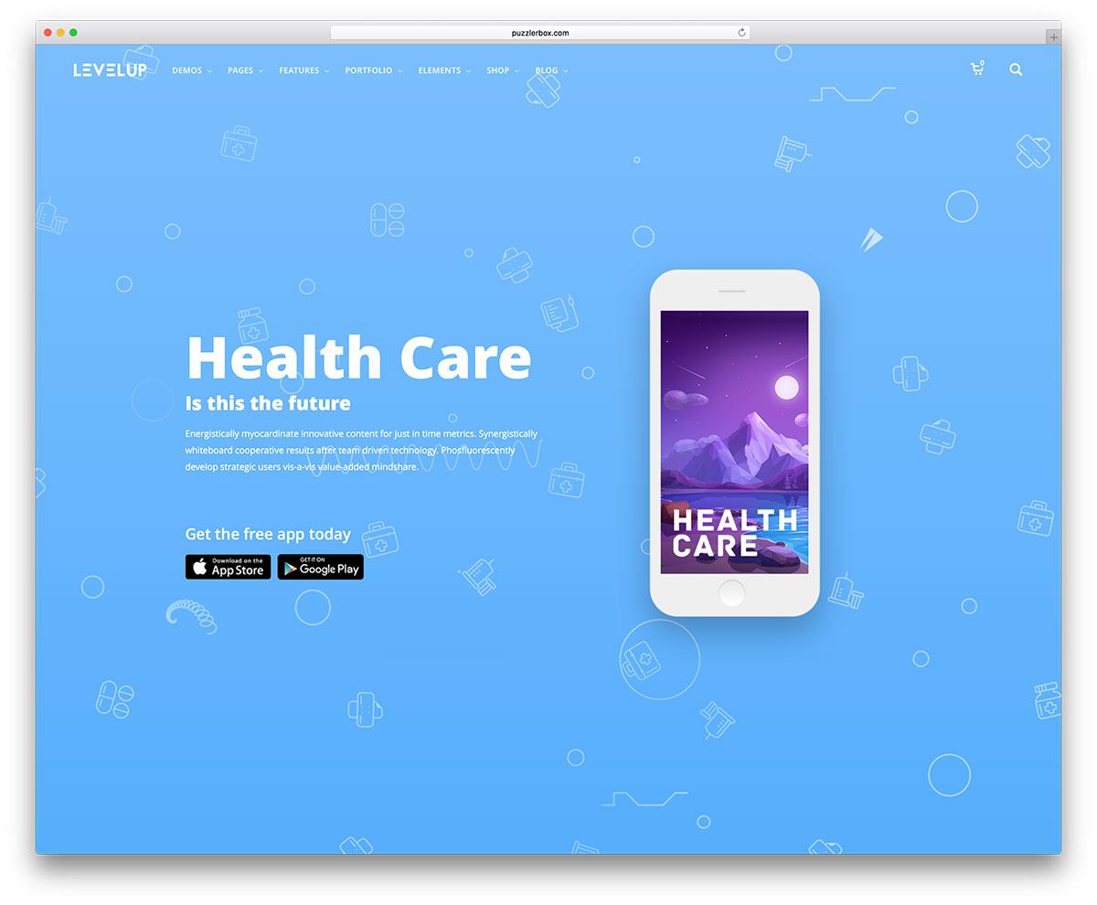 33 best app software showcase wordpress themes 2018 colorlib levelup is a flexible and responsive wordpress creative multipurpose website theme this theme can help webmasters produce polished and professional quality maxwellsz